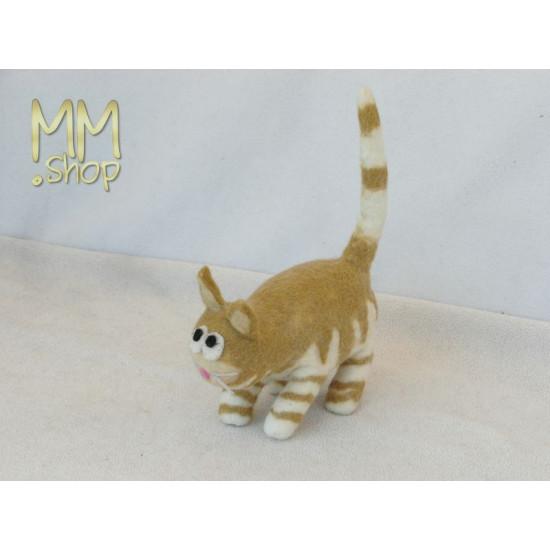 Felt animal model Fat Cat