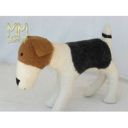 Felt animal model Terrier Bobby (large)