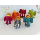 Multi colour Elephant