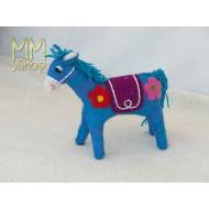 Felt animal model Fairy Horse