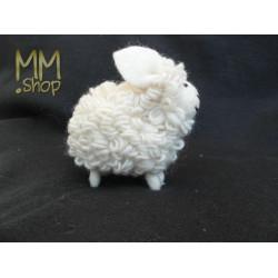 Felt animal model Sheep white (large)