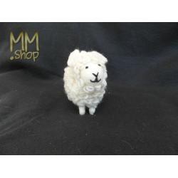 Felt animal model Sheep white (medium)