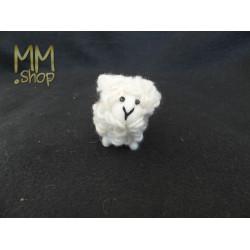 Felt animal model Sheep white (small)