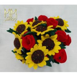 Felt Flower Sunflower
