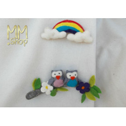 mobile owls and Rainbow