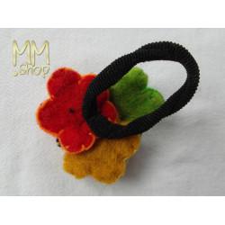 felt hairband multi flower