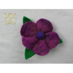 Felt flowerpin medium