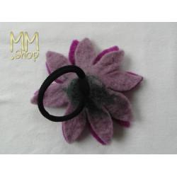 Felt hairband flower L