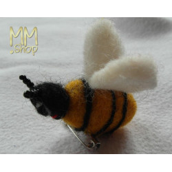 Felt Bee-pin