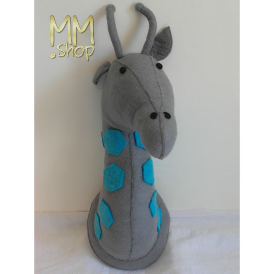Felt wall decoration giraffe