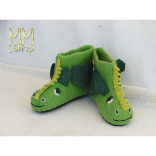 Slippers model Dragon