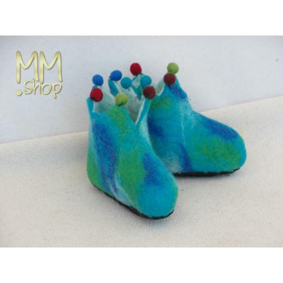 Felt slippers model Fairy