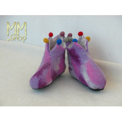 Felt slippers model Fairy