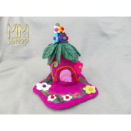 Fairy House Foxglove-Pink