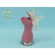 Felt eggwarmer model unicorn