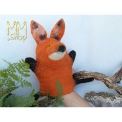 Felt handpuppet Fox