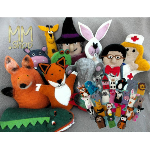Hand & Finger Puppets