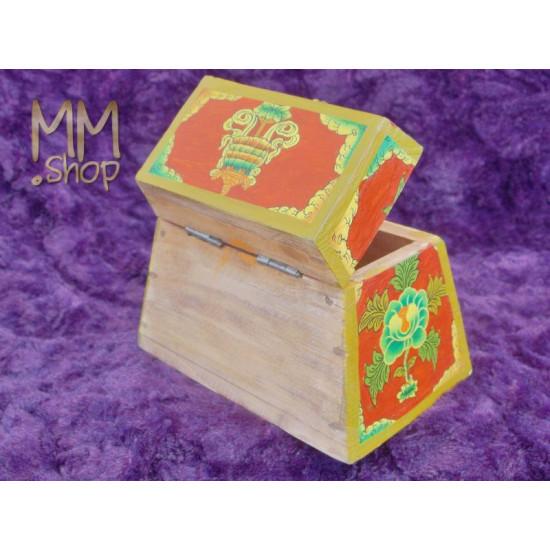 Wooden Box Pyramid Demon S