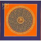 mandala mantra 28cm