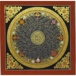 mandala mantra 56 cm