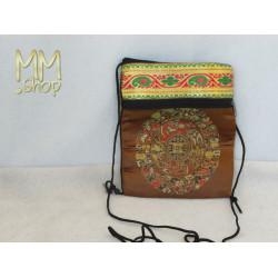 belly purse multicolored