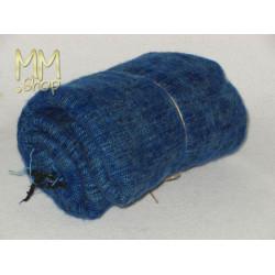shawl wool blue