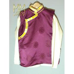 Nepalese shirt with sleeveless jacket