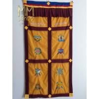 Tibetan door curtain