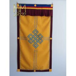 Tibetan door curtain infinity