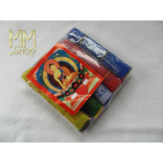 Prayer flags 8 cm