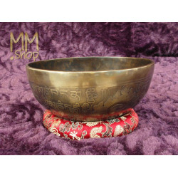 Singing bowl Eye of Buddha 17 cm