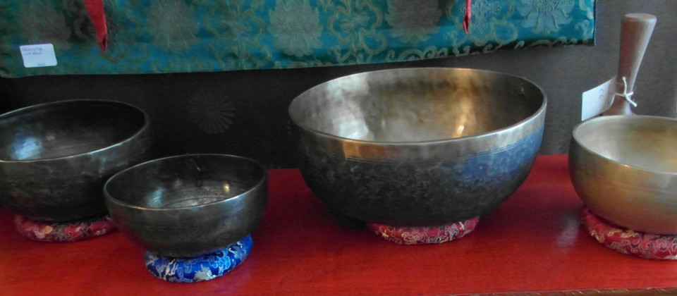 Selected Singing Bowls from Nepal