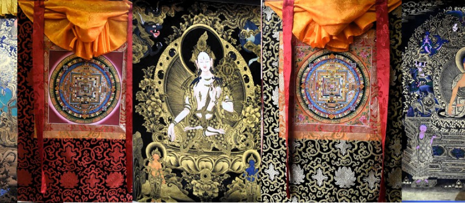 Thangkas and Mandalas